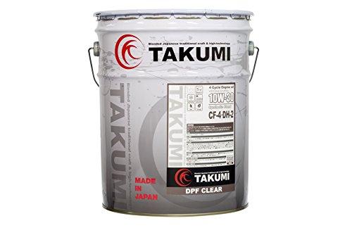 TAKUMIモーターオイル DPF CLEAR 10W-30/ 高性能ディーゼルオイル DPF装着車対応 化学合成油(HIVI BASE) CF-4/DH-2 20L 【送料無料】