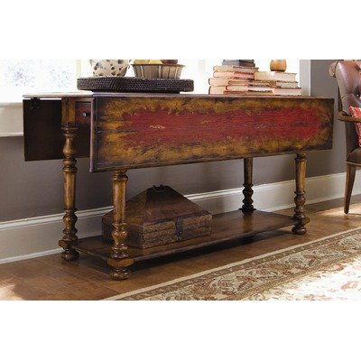 Cheap Hooker Furniture 978-50-001 Seven Seas Drop – Leaf Console Table in Caramel (978-50-001)