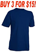 Russell Athletic 94030BK Youth Nublend Short Sleeve Tee Shirt