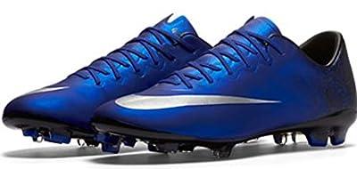 Nike Jr. Mercurial Vapor X CR FG Soccer Cleat (Deep Royal Blue)