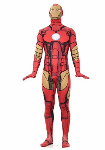 Iron Man 2nd Skin Adult Costume Size:Large