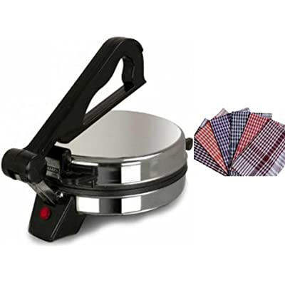 NON-STICK SILVER ROTI MAKER WITH ROTI CLOTH