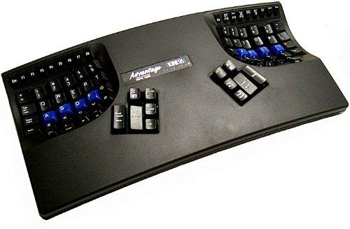 Kinesis Advantage Ergonomic Contoured Keyboard USB - Black