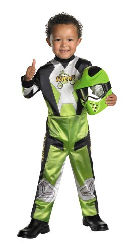 Lil Motocross Racer Child Costume Size 4-6 Small