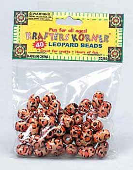 Leopard Beads (24 Pack)