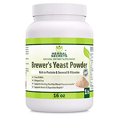 Herbal Secrets Brewer's Yeast Powder (16 oz) 1 lb by Herbal Secrets
