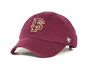Florida State Seminoles 47 Brand Maroon Clean Up Adjustable Hat Cap by