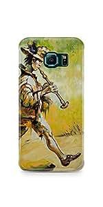 Casenation Pied Piper Samsung Galaxy S6 Edge Matte Case