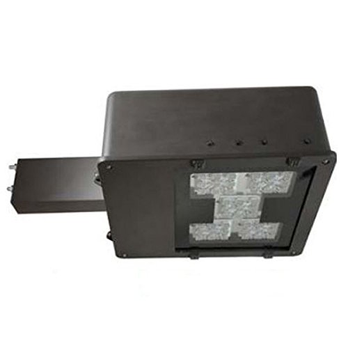 Maxlite Mlar100Led50 - 100 Watt - Led - Area Flood Light Fixture - 400W Mh Equal - Dark Bronze - 6 In. Aluminum Arm - 120-277 Volt