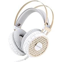 Gaming Headset,FORTULY 3.5mm Surround Sound /Vibration/Led 4D Gamer Headphone For PC With Micphone In-line Control