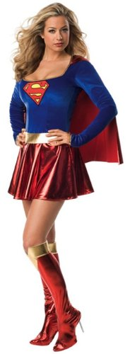 Superman - Sexy Supergirl Costume