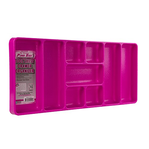 The Original Pink Box Pbldo Drawer Organizer, Pink front-94605