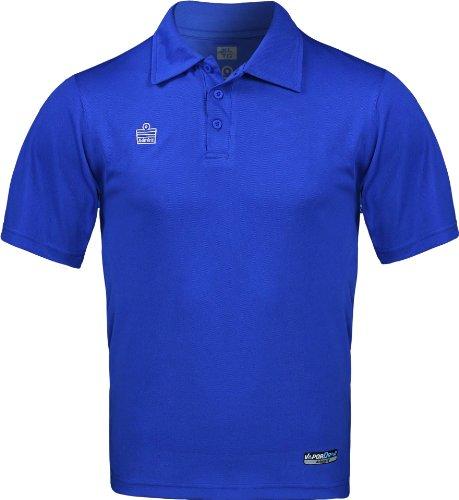Admiral classic soccer coach sideline polo shirt royal for Soccer coach polo shirt