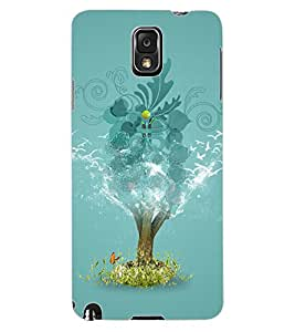 ColourCraft Creative Image Design Back Case Cover for SAMSUNG GALAXY NOTE 3