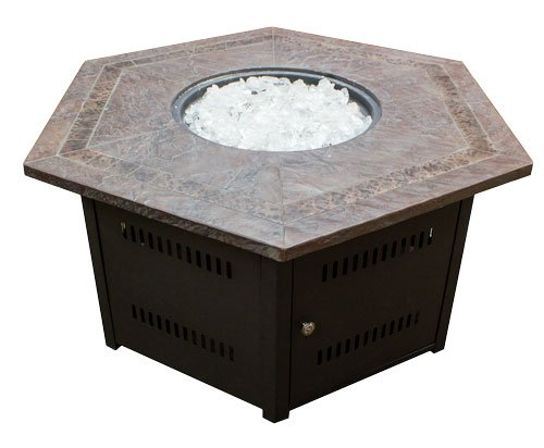 Hiland-Fire-Pit-Hexagon-with-Slate-Table-Large