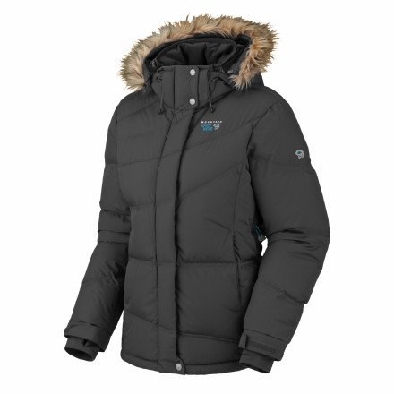 Downhill Parka - Women's Hay XL by Mountain Hardwear
