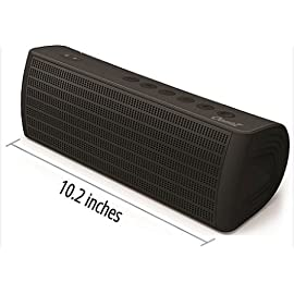 The OontZ XL Cambridge SoundWorks Most Powerful Portable, Wireless, Bluetooth Speaker and Powerbank. The Perfect Speaker to take everywhere with you this summer ((Matte Black))