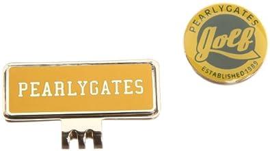 [パーリーゲイツ] PEARLY GATES パーリーゲイツ ゴルフ クリップマーカー 053-284919  060 YELLOW (YELLOW)