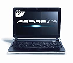 Acer Aspire One AOD250-1738 10.1-Inch White Netbook - 7.5 Hour Battery Life