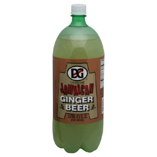 D & G Jamaican Ginger Beer, 2 Liter (8 Pack)
