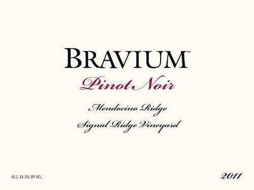 2011 Bravium Winery Pinot Noir Signal Ridge Vineyard, 750Ml