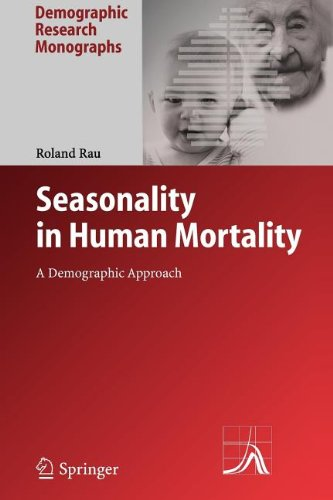 Seasonality in Human Mortality: A Demographic Approach (Demographic Research Monographs)