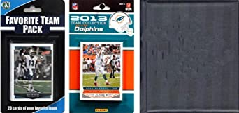 NFL Miami Dolphins Licensed 2013 Score Team Set and Favorite Player Trading Card Pack by C&I Collectables