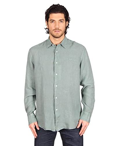 Fred Perry Shirt Shirt [GREEN]