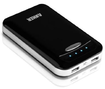 ANKER Astro E4 大容量モバイルバッテリー 13000mAh デュアルUSBポート iPhone5/iPhone4S/iPad/iPod/Android/各種スマホ/Wi-Fiルータ等対応(日本語説明書付) ブラック AK-79AN13K-BA