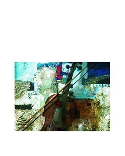 ArteMariani Pannello Decorativo su Tela Night In Blue