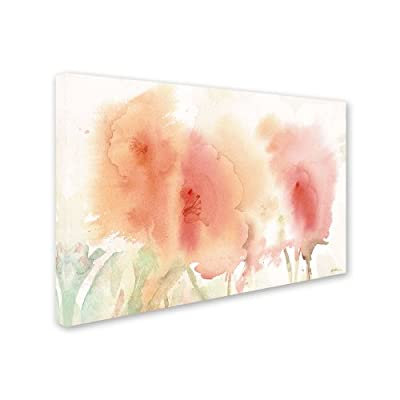 Trademark Fine Art Coral Composition Artwork by Sheila Golden