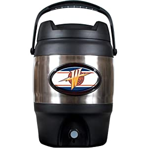 NBA Golden State Warriors 3 Gallon Stainless Steel Jug by Great American Products