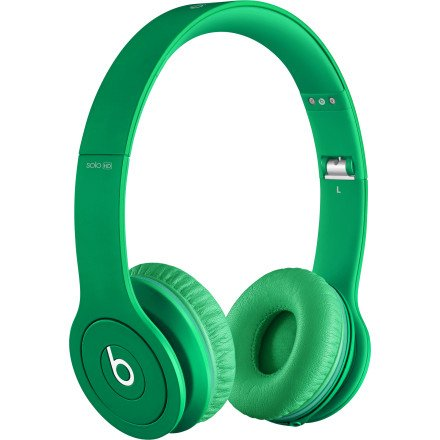 Beats by Dre Solo HD Monochromatic On Ear Headphone Matte Green, One Size