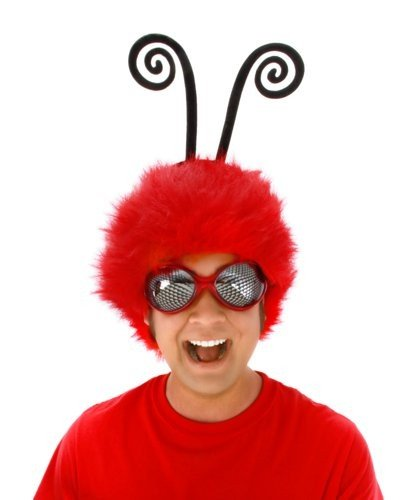 Elope Red Creepy Crawler Glasses - 1