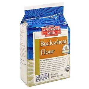 Arrowhead Mills Organic Buckwheat Flour, 32 Ounce