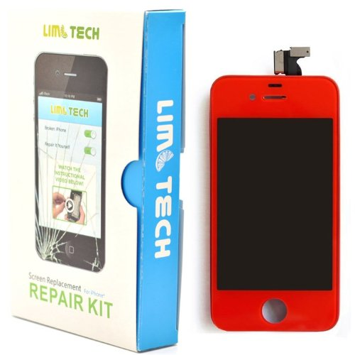 Limtech Iphone 4 Gsm (At&T) Premium Screen Replacement & Repair Deluxe Kit ,With Guide Book And Tools .Touchscreen Digitizer And Lcd Assembly
