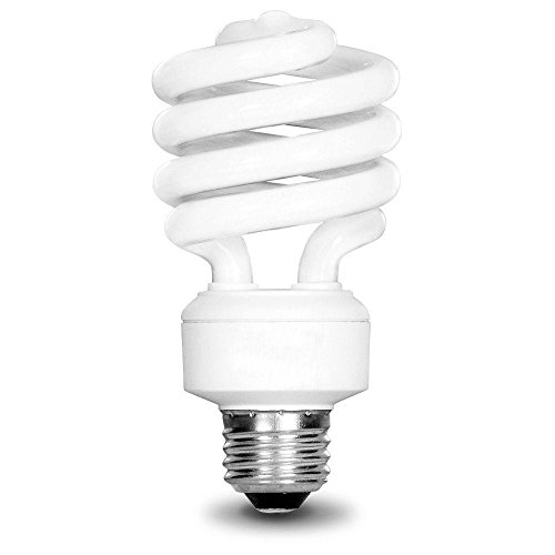 EcoSmart 100W Equivalent Daylight (5000K) Spiral CFL Light Bulb (4-Pack) (Cfl Pack compare prices)