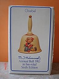 M. J. Hummel Goebel Annual Bells - #705 Sixth Edition 1983