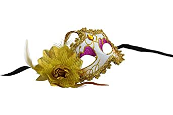 Romantic Disguise Mask with Attractive Embellishments