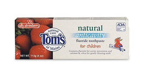 Toms Childrens Anti-Cavity Toothpaste- Silly Strawberry with Fluoride 85ml