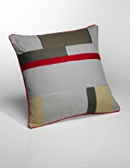 Conran Graphic Block Cushion
