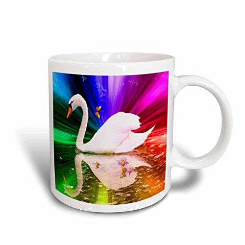 Swan Rainbow Mug<br>11 ounce