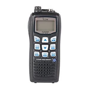 Icom M36 01 Floating Handheld 6W Marine Radio with Clear Voice Audio by Icom