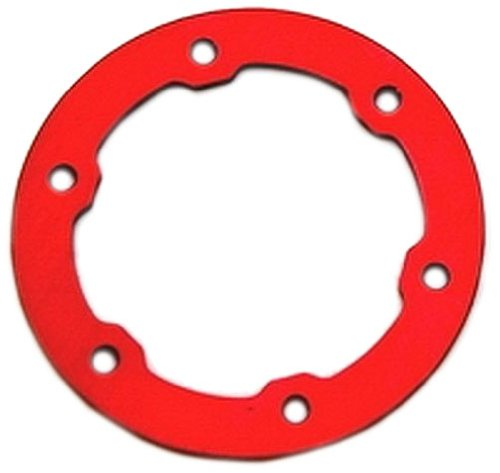 ST Racing Concepts STP6236R Aluminum Light Weight Bead Lock Rings for The Traxxas Pro Slash and Slayer Epic Rims (1 Pair), Fiery Red