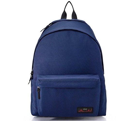 """Mixi Styled zaino della spalla di modo Carry Bag Adatto laptop, iPad e molti Personal Stuff (Blu, 16"""")"""