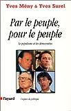 echange, troc Y. Meny, Y. Surel - Par le peuple pour le peuple