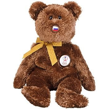 TY Beanie Baby - CHAMPION the FIFA Bear ( Russia ) - 1