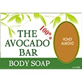 Ah-vo 100% Avocado Bar Moisturizing Body Soap - Honey Almond