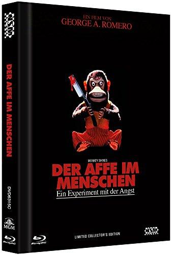Der Affe im Menschen - uncut (Blu-Ray+DVD) auf 222 limitiertes Mediabook Cover C [Limited Collector's Edition]