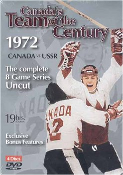 Canada's Team Of The Century (Region 1 DVD) 1972 Canada Vs. U.S.S.R. Games 1-8